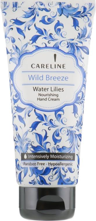 Крем для рук с ароматом водяной лилии - Careline Wild Breeze Hand Cream