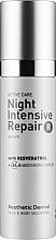 Духи, Парфюмерия, косметика Увлажняющая сыворотка для лица - Aesthetic Dermal Night Intensive Repair R