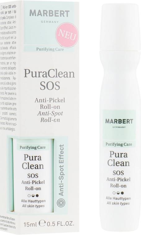 Тоник для проблемной кожи - Marbert Purifying Care Pura Clean SOS Anti-Pickel Roll-on