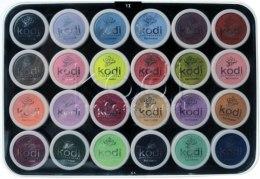 Духи, Парфюмерия, косметика Набір кольорових акрилів - Kodi Professional Colored Acrylics Kit