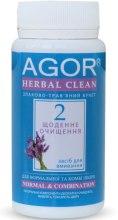 """Духи, Парфюмерия, косметика """"Ежедневное очищение №2"""" для нормальной и комбинированной кожи - Agor Herbal Clean Normal & Combination"""