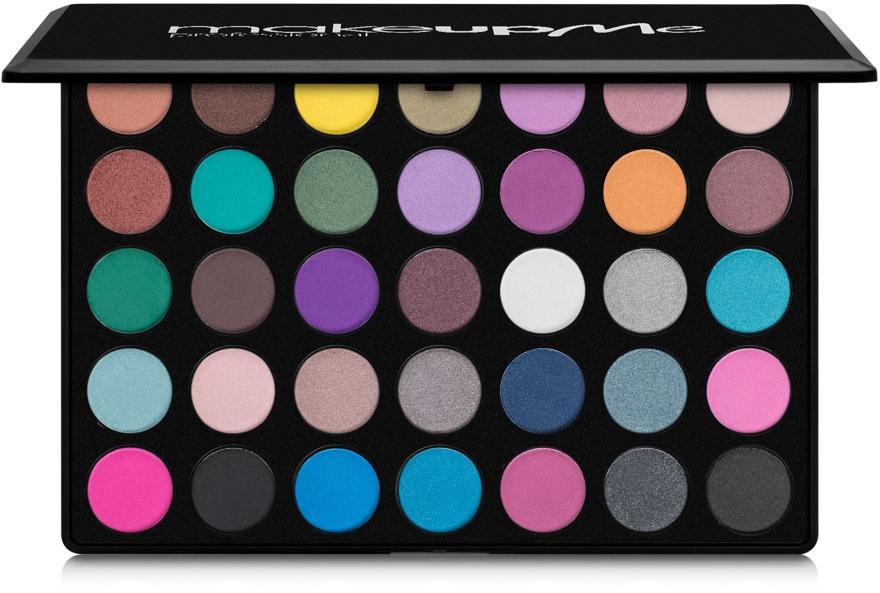 Профессиональная палитра теней 35 цветов, D35 - Make Up Me