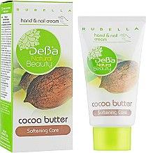 Духи, Парфюмерия, косметика Смягчающий крем для рук с маслом какао - DeBa Natural Beauty