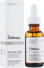 Духи, Парфюмерия, косметика Сыворотка с альфа-липоевой кислотой - The Ordinary Alpha Lipoic Acid 5%