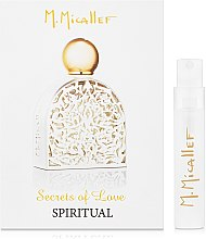 Духи, Парфюмерия, косметика M. Micallef Secrets of Love Spiritual - Парфюмированная вода (пробник)