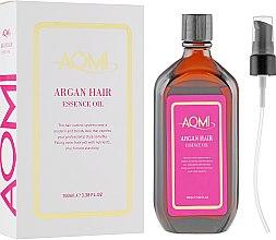 Духи, Парфюмерия, косметика Эссенция для волос с маслом арганы - Aomi Argan Hair Essence Oil