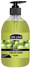 Духи, Парфюмерия, косметика Жидкое мыло - On Line Harmony Olive Liquid Soap