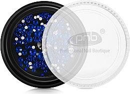 Духи, Парфюмерия, косметика Стразы для ногтей - PNB Blue Mix SS2,3,6,8,10,12 Glass