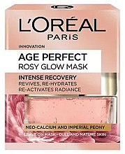 Духи, Парфюмерия, косметика Маска для лица - L'Oreal Paris Age Perfect Rosy Glow Mask
