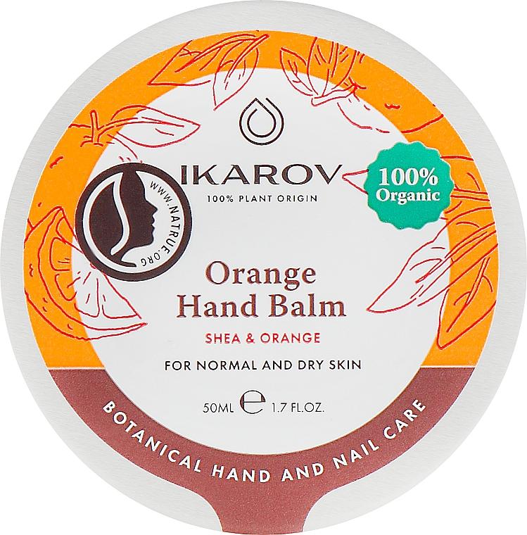 Апельсиновый бальзам для рук - Ikarov