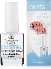 Парфумерія, косметика Сушка-покриття для нігтів - Constance Carroll Cristal Shine Top Coat
