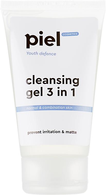 Гель для вмивання - Piel cosmetics Youth Defense Purifying Gel Cleanser 3in1 — фото N2