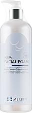 Духи, Парфюмерия, косметика Мягкая пенка для умывания с АХА - Merikit Aqua Facial Foam