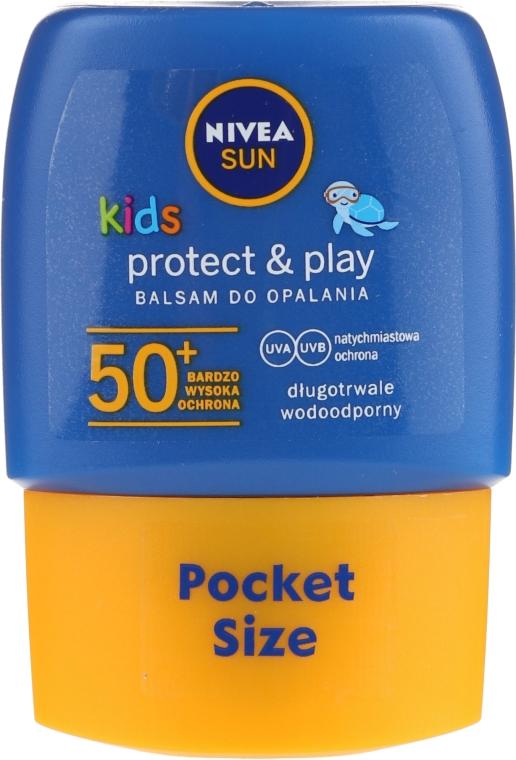 Солнцезащитный лосьон SPF50 - Nivea Sun Care Kids Lotion