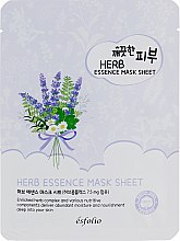 Тканевая маска c экстрактами трав - Esfolio Pure Skin Essence Herb Mask Sheet — фото N1