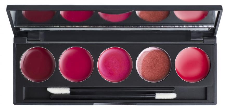 Компактная палитра помад и блесков на 5 оттенков - Make Up Me