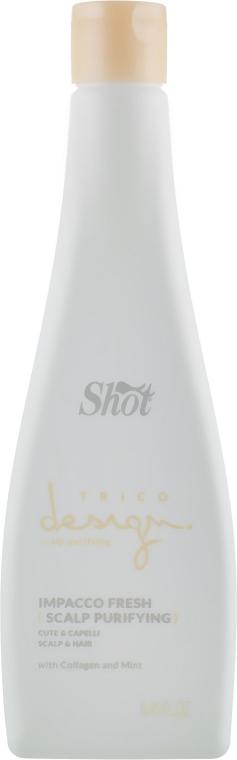 Компрессы для кожи головы - Shot Trico Design Scalp Purifying Fresh Impacco