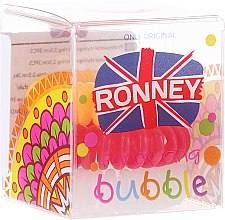 Духи, Парфюмерия, косметика Резинки для волос, 3,5 см - Ronney Professional S22 MAT Funny Ring Bubble