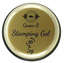Духи, Парфюмерия, косметика Гель-паста для стэмпинга - Queen B Stamping Gel 3D