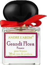Духи, Парфюмерия, косметика Andre L'arom Lovely Flauers Grandi Flora - Парфюмированная вода (тестер с крышечкой)