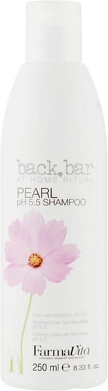Шампунь жемчужный увлажняющий - FarmaVita Back Bar Pearl Shampoo