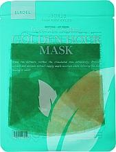 Духи, Парфюмерия, косметика Тканевая маска для лица успокаивающая - Elroel Golden Hour Mask Green Tea Soothing