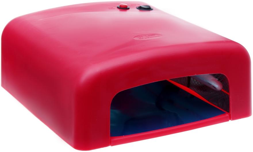 Лампа для гель-лаков и геля, красная - Avenir Cosmetics