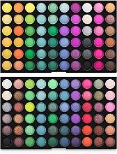 Духи, Парфюмерия, косметика Профессиональная палетка теней для век 120 цветов - King Rose 02