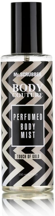 "Мист для тела ""Прикосновение золота"" - Mr.Scrubber Body Couture Perfume Body Mist Touch Of Gold"