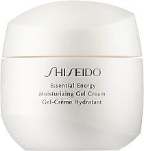 Духи, Парфюмерия, косметика Увлажняющий энергетический крем-гель для лица - Shiseido Essential Energy Moisturizing Gel Cream (тестер)
