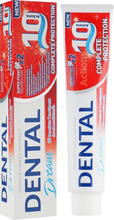 "Зубная паста ""Полная защита 10 в 1"" - Dental Dream Complete Protection"