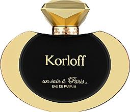Духи, Парфюмерия, косметика Korloff Paris Un Soir A Paris - Парфюмированная вода