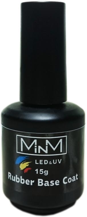 Каучуковая база для ногтей - M-in-M Rubber Base Coat