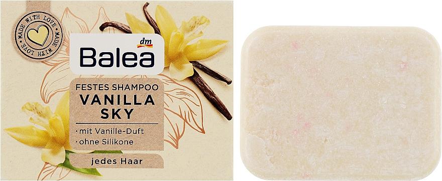 Твердый шампунь - Balea Festes Shampoo Vanilla Sky