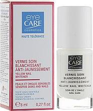 Духи, Парфюмерия, косметика Отбеливающий лак для ногтей - Eye Care Cosmetics Yellow Nail Whitener