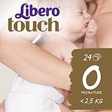 Духи, Парфюмерия, косметика Дышащие детские подгузники Touch Prema (2,5 кг), 24 шт. - Libero