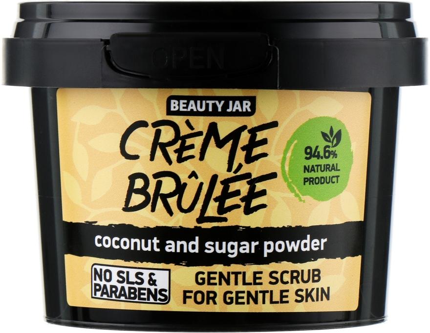 "Скраб для обличчя ""Crème brûlée"" - Beauty Jar Gentle Scrub For Gentle Skin — фото N1"