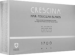 Духи, Парфюмерия, косметика Комплекс для лечения выпадения волос у мужчин 1700 - Crescina Hair Follicular Islands Man Complete Treatment 1700