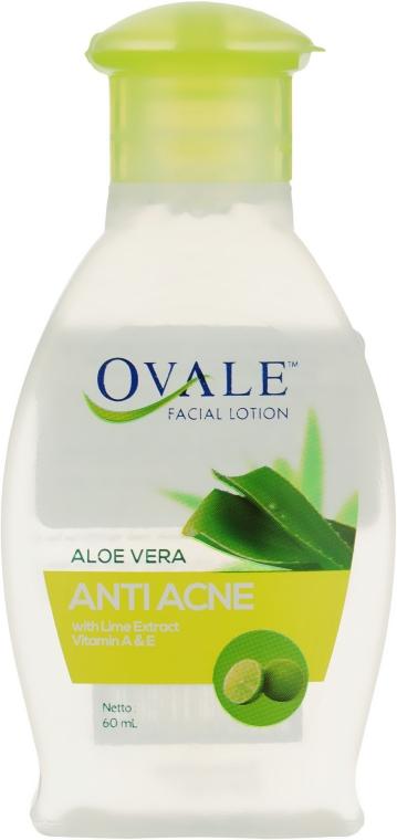 Лосьон для очищения и демакияжа - Ovale Aloe Vera Anti Acne Lotion