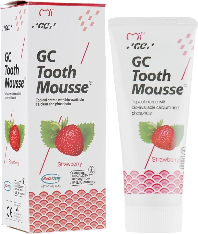 Крем для зубов - GC Tooth Mousse Strawberry