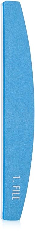 Пилка для нігтів полірувальна, блакитна - Malva Cosmetics — фото N1