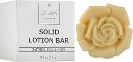 Духи, Парфюмерия, косметика Натуральный твердый лосьон для тела - Le Delice Solid Lotion Bar Oatmeal Milk Honey