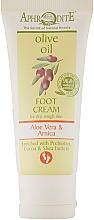 Духи, Парфюмерия, косметика Крем для ног с экстрактом алоэ вера и пребиотики - Aphrodite Aloe Vera Foot Cream