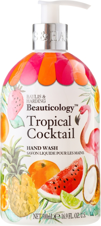 Жидкое мыло для рук - Baylis & Harding Beauticology Tropical Cocktail Hand Wash