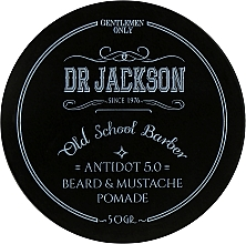 Духи, Парфюмерия, косметика Воск для бороды и усов - Dr Jackson Gentlemen Only Old School Barber Antidot 5.0 Beard & Mustache Pomade