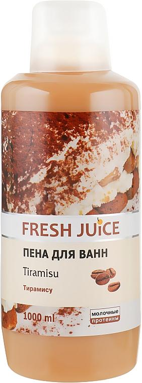Пена для ванны - Fresh Juice Tiramisu