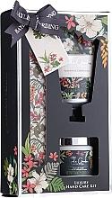 Духи, Парфюмерия, косметика Набор для маникюра - Baylis & Harding Royal Garden Collection Set (h/cr/50ml + salt/70g + nail/file/1)