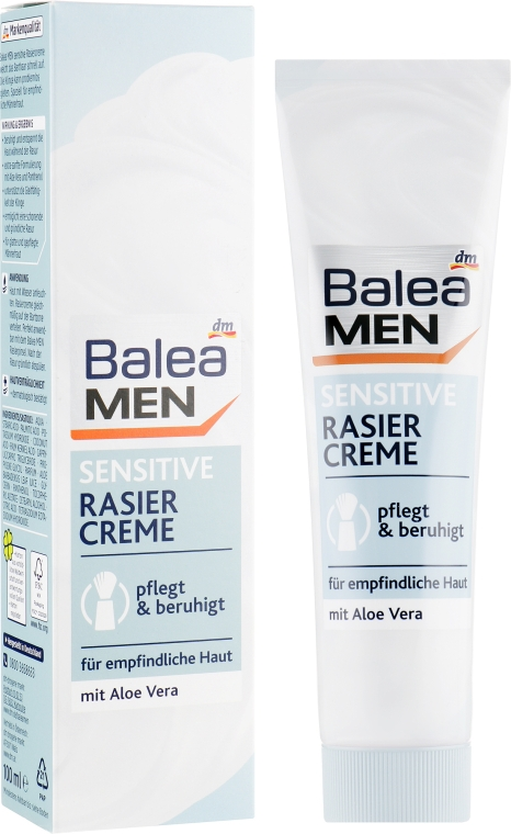 Крем для бритья - Balea Men Ultra Sensitive After Shave Balsam