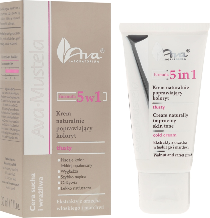 Крем для лица - Ava Laboratorium Ava Mustela 5in1 Cold Cream