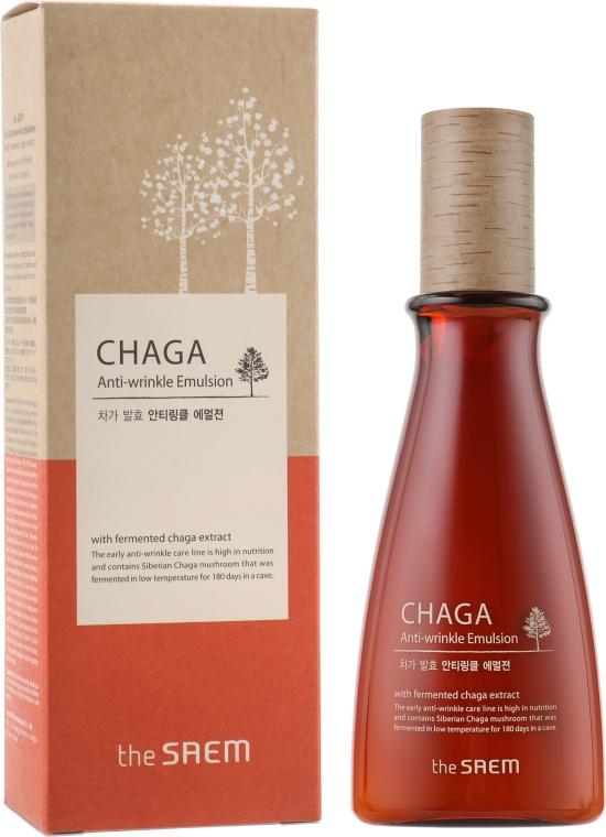 Антивозрастная эмульсия с Чага - The Saem Chaga Anti-wrinkle Emulsion